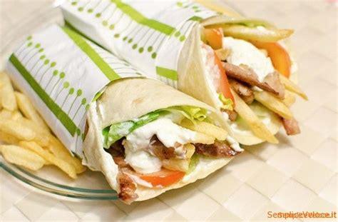 come fare il kebab in casa gyros pita ricetta semplice e veloce