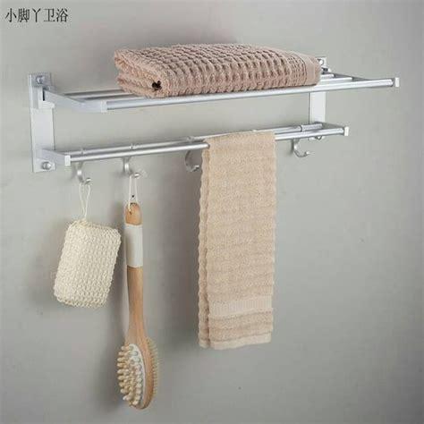 Rak Kosmetik Aluminium rak handuk dinding kamar mandi aluminium grosir cirebon