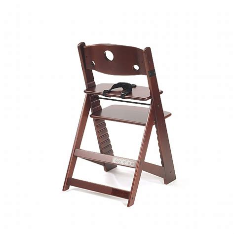 Height Right Chair by Keekaroo Height Right Mahogany Chair N Cribs