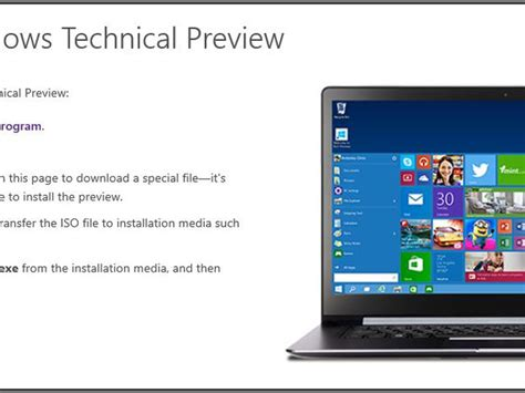 install windows 10 cnet how to install windows 10 technical preview from a flash