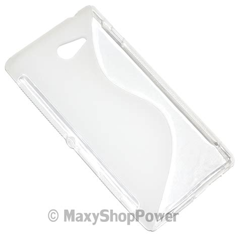 Sony Xperia M2 Jelly Silikon ssyl custodia tpu silicone cover per sony xperia m2