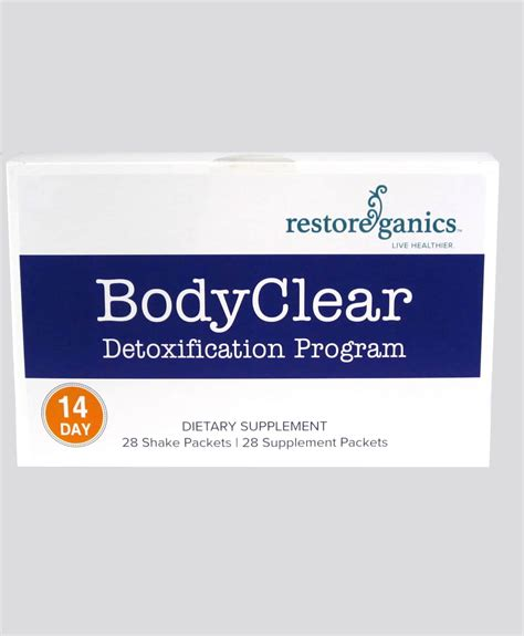 And Detox Programs In by Bodyclear Detoxification Program Reboot Center For