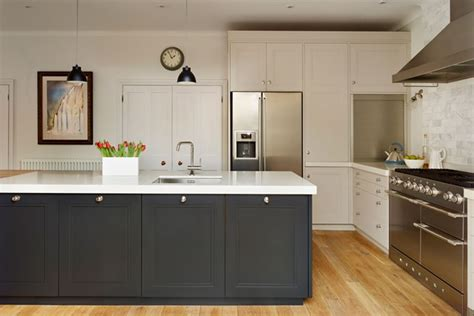 two tone kitchen by woodstock furniture kitchen design ideas images houseandgarden co uk