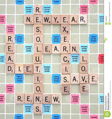 words describing new year new years resolutions stock photo image 12065390
