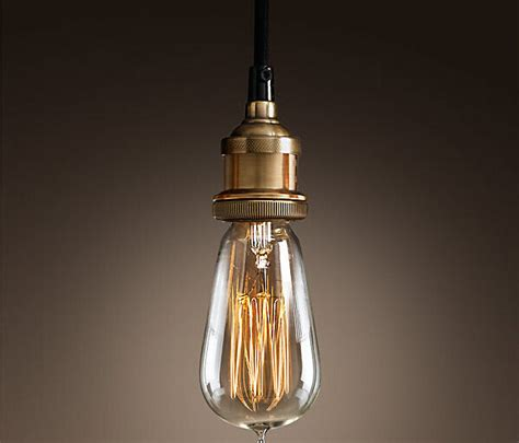 Light Fixture Sockets E27 Vintage Edison Drop Light Hanging Socket Pendant Light