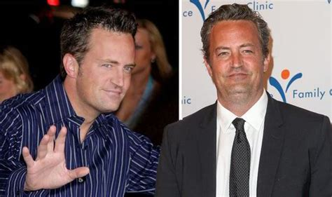 matthew perry peliculas friends actor matthew perry is barely recognisable on red