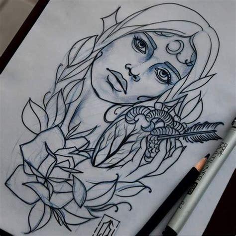 neo traditional angel tattoo custom tattoo antalya neo traditioanal small woman