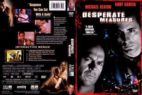 Desperate Measures dvd desperate measures
