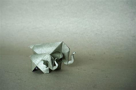 Origami Elephant - 31 origami elephants to fold for the elephantorigamichallenge