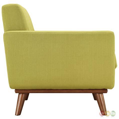loveseat armchair mid century modern engage 3pc button tufted sofa loveseat
