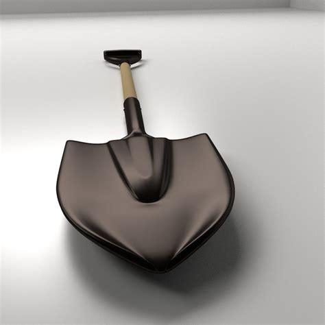 3ds Shovel shovel 3d model 3ds fbx blend dae cgtrader