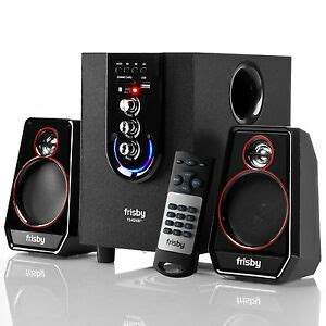 frisby  bluetooth pc laptop speakers  dell toshiba