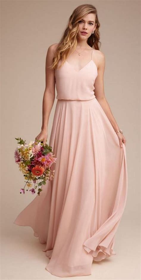 blush color dresses best 25 blush bridesmaid dresses ideas on