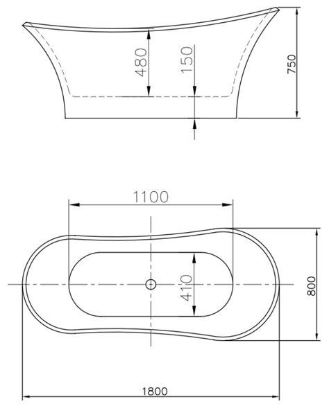 vasche da bagno misure misure vasca da dettagli misure vasca da bagno sirio