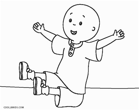 Caillou Coloring Pages by Free Printable Caillou Coloring Pages For Cool2bkids
