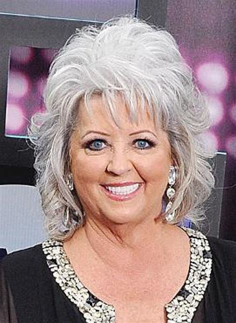 is paula deens hairstyle good for thin hair paula deen s houskeeper is a theif y all