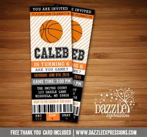 sports ticket template free printable basketball ticket birthday invitation sports