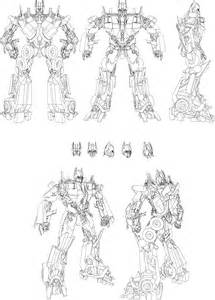 optimus prime blueprint handsofdavid