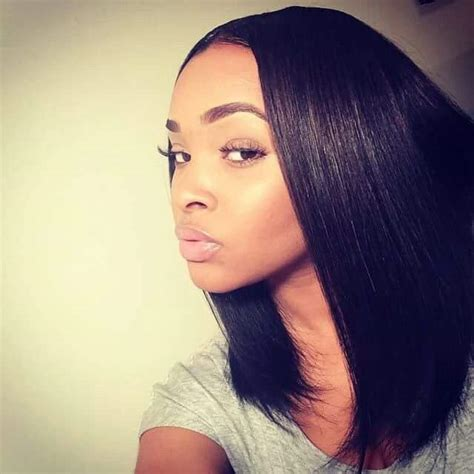 Hairstyles For Relaxed Hair Black by Learn More At Blackhairinformation