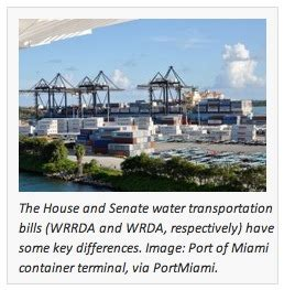 difference between house and senate five key differences between house and senate water transportation bills