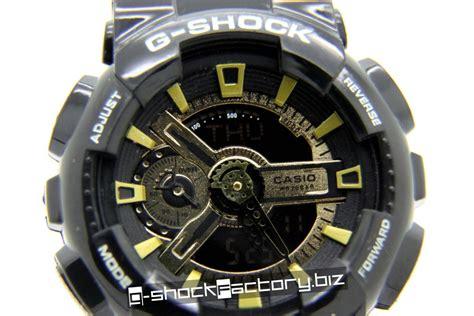 G Shock Gshock Ga 110 Black Gold g shock ga 110 limited edition black gold by www