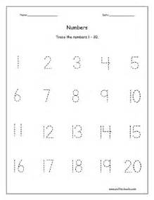 number templates 1 20 13 best images of counting worksheets 1 20 practice