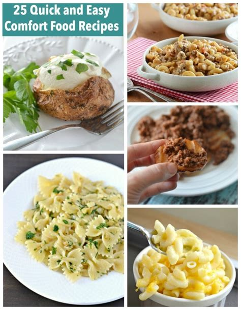 25 Quick And Easy Comfort Food Recipes Courtney S Sweets