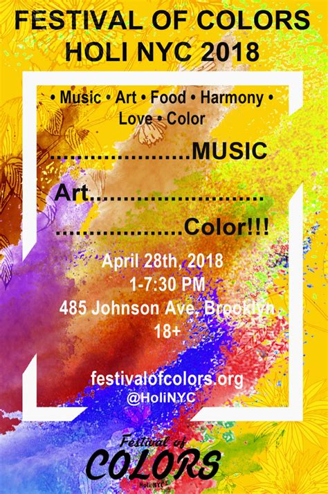 festival of colors nyc festival of colors holi nyc 2018 tickets sat apr 28