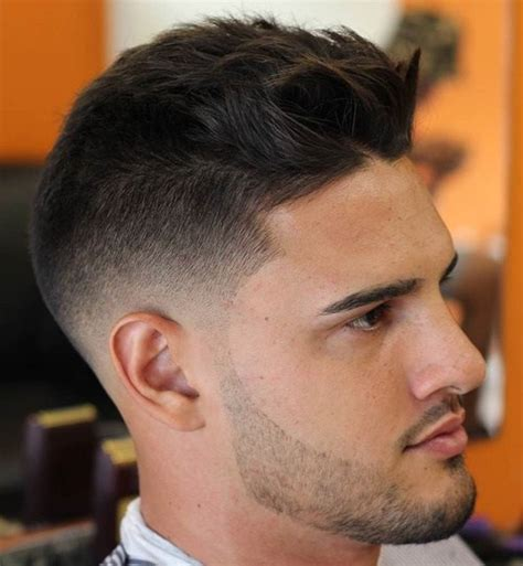 textured top faded sides 40 ritzy shaved sides hairstyles and haircuts for men