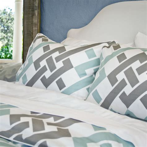 crane and company bedding the fillmore blue duvet set modern duvet covers sets