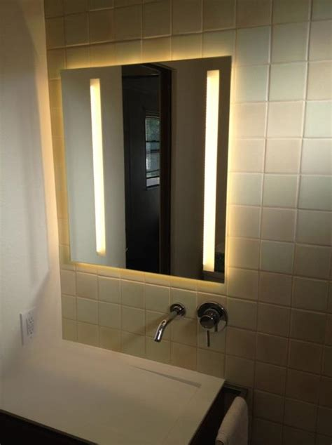 Modern Bathroom Cabinetry by A Modern Single Wide Remodel Mobile Home Living