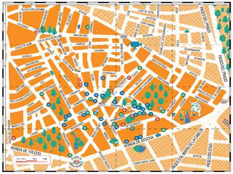 mapa de la casa de co el mapa barrio de lavapi 233 s de la asociaci 243 n de