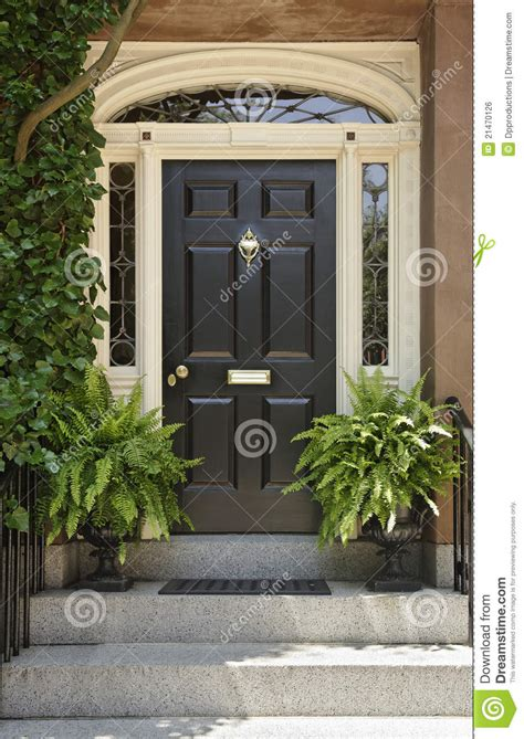 Architectural Detail On A Front Door Royalty Free Stock Architectural Front Doors