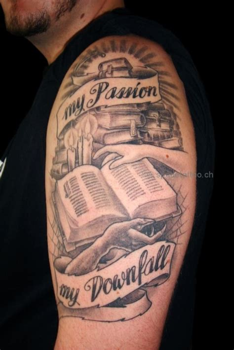 chest tattoo book 50 attractive literary tattoos for book lovers