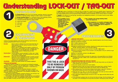 lockout hazard warning labels lock out tag out must be performed