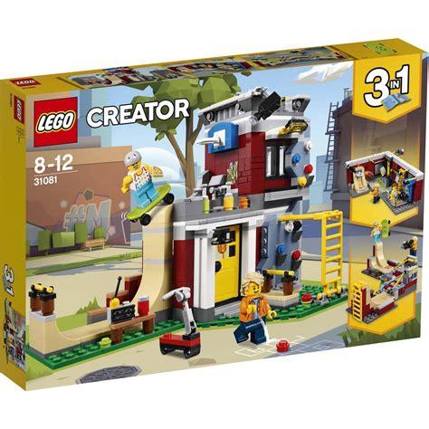 lego creator modular skate house 31081 big w