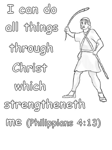 Coloring Page For Philippians 4 13 by Philippians 4 13 Coloring Page Lorain County Free Net