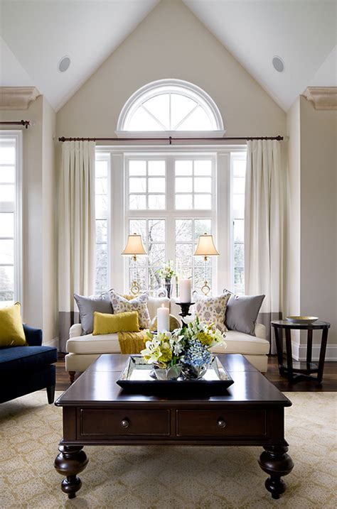 Neutral Living Room Decorating Ideas Living Room Design Ideas Neutral Living Room Palette With Comfortable Tailored Furniture