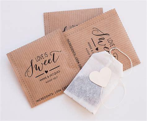 wedding favor tea bags tea wedding favors the ultimate guide emmaline