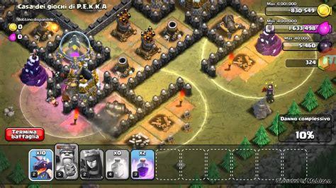 casa dei giochi di pekka clash of clans 100 a casa dei giochi di pekka