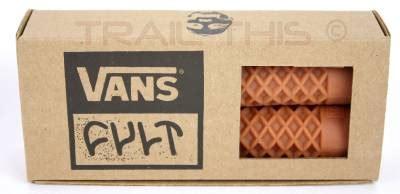vans waffle pattern cult x vans flangeless bmx bike scooter grips waffle
