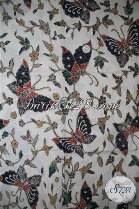 Batik Kupu Kupu Batterflay kain batik klasik motif kupu kupu keren untuk busana resmi