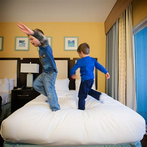 jumping bed sleep when the baby or kids sleep and other myths