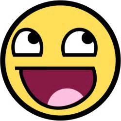 Funny happy face clipart clipart kid