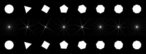 pattern glare lines distortion what is the origin of the hexagonal artifact