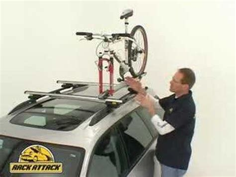 attack of the rack thule 518 echelon bike rack demonstrated by rack attack youtube