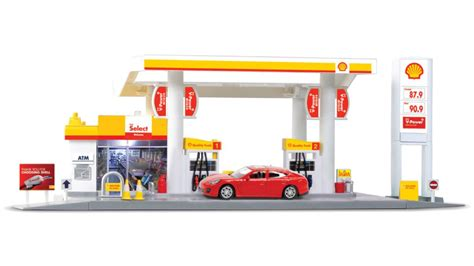 Total Garage Car Wash by 1 64 Shell Service Station Playset