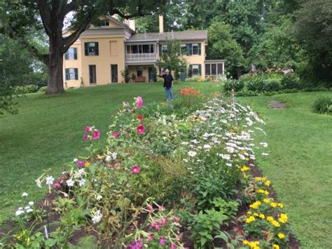 Garden Amherst Ma by View Of The Back Of The House From The Garden Picture Of