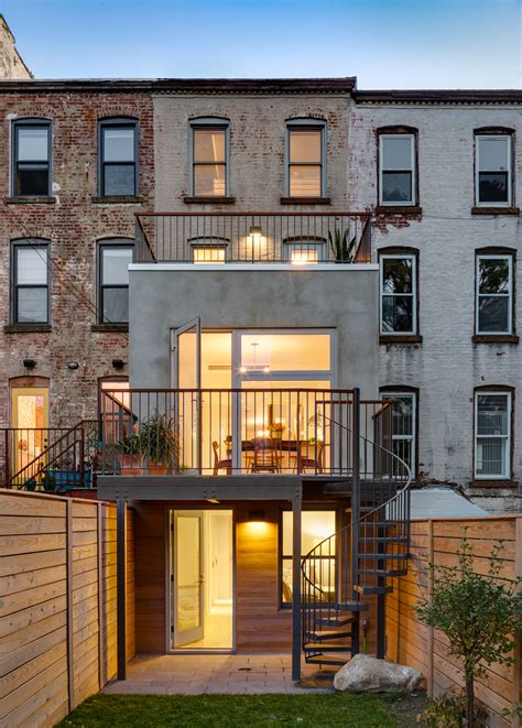 home design brooklyn narrow brooklyn townhouse gets sleek rev for family of