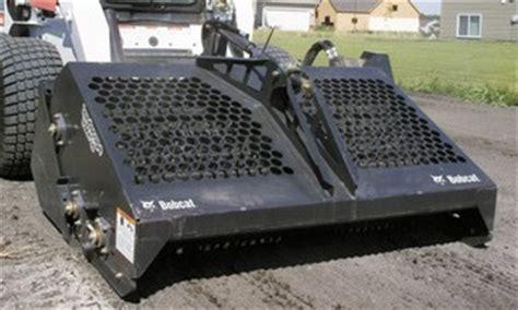 Landscape Rake Skid Steer Rental Skid Steer Rake Attachments Runyon Equipment Rental